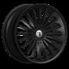 Velocity VW 18 17X7.0 Black