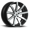 Velocity VW 19 20X7.5 Black Machined