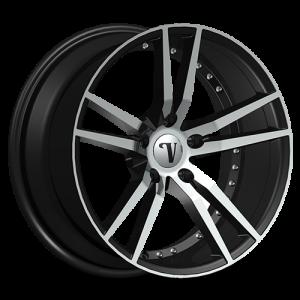 Velocity VW 20 18X7.5 Black Machined