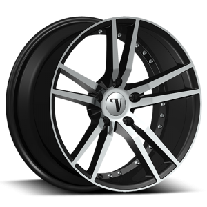 Velocity VW 20 22X9.0 Black Machined