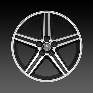 Velocity VW 248T-A Black Machined Wheel Packages