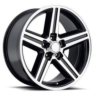 Velocity VW 248TM IROC 22X9.5 Black Machined