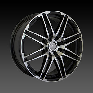 Velocity VW 287 Black Machined Wheel Packages