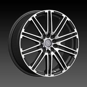 Velocity VW 287B Black Machined Wheel Packages