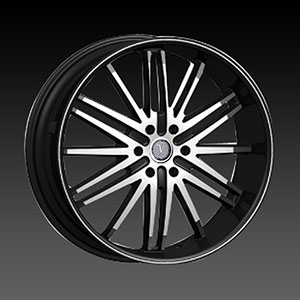 Velocity VW 910B Black Machined Wheel Packages