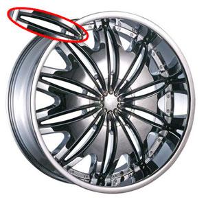Velocity VW 820 Black Inserts