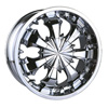 Velocity vw118 Chrome 18 X 7.5 Inch Wheel