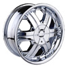 Velocity vw158 Chrome 17 X 7 Inch Wheel