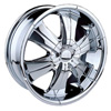 Velocity vw166 Chrome 24 X 9.5 Inch Wheel