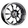 Velocity vw177 Chrome 15 X 6.5 Inch Wheel