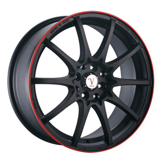 Velocity VW 211 Black Wheel Packages