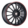 Velocity VW 257 Black Wheel Packages