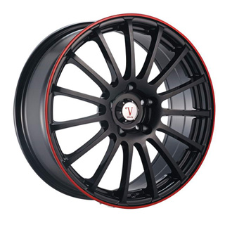 Velocity VW 257 Black Wheel Packages
