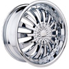 Velocity vw380 Chrome 17 X 7.0 Inch Wheel