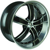 Velocity vw855A Machined 20 X 10 Inch Wheel