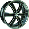 Velocity vw855B Machined 24 X 10 Inch Wheel