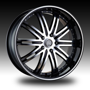 Velocity VW 865A Black Machined Wheel Packages