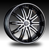 Velocity vw865A Machined 17 X 7.0 Inch Wheel