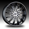 Velocity vw865B Machined 24 X 10 Inch Wheel
