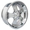 Velocity vw866 Chrome 20 X 8.5 Inch Wheel