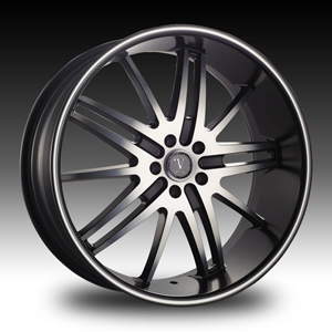 Velocity vw910 Machined 18 X 7.5 Inch Wheel