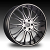 Velocity vw920 Chrome 20 X 7.5 Inch Wheel