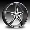 Velocity VW 925 Gloss Black Wheel Packages