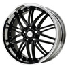 Verde Kaos Black 22 X 8.5 Inch Wheels