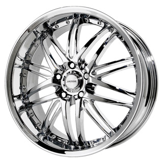 Verde Kaos Chrome Wheel Packages