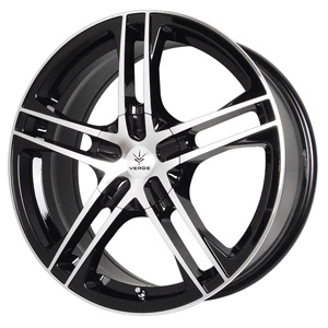Verde Protocol Black Machine 18 X 7.5 Inch Wheels