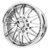 Verde Regency Chrome 20 X 7.5 Inch Wheels