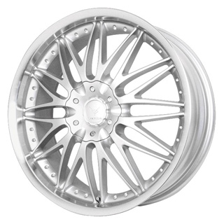 Verde Regency Silver Machined Wheel Packages