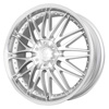 Verde Regency Silver Machine 17 X 7.5 Inch Wheels