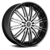 Versante 212 (12 Spoke) 28X10 Black Machined