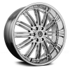 Versante 212 (12 Spoke) 28X10 Chrome