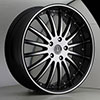 Versante 213 Black Machined 20 X 8.5 Inch Wheel