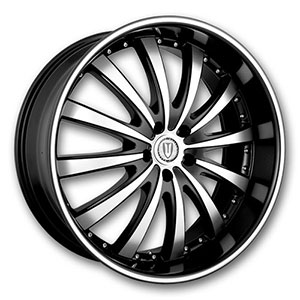 Versante 219B Black Machined Wheel Packages
