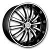 Versante 219B Black 24 X 9.5 Inch Wheel
