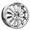 Versante 219B Chrome 24 X 9.5 Inch Wheel