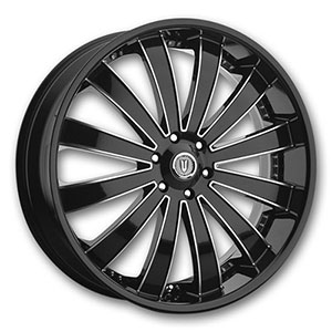 Versante 225 Black Machined Wheel Packages