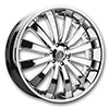 Versante 225 Chrome 24 X 9.5 Inch Wheel