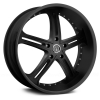 Versante  226B 20X8 Black Machined