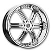 Versante 226B Chrome 24 X 9.5 Inch Wheel