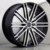 Versante 227 Black Machined 24 X 9.5 Inch Wheel