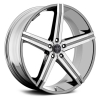Versante 228 (5 Spoke) 28X9.5 Chrome