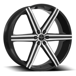 Versante 228 (6 Spoke) Black Machined