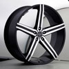 Versante 228 Black Machined 28 X 10 Inch Wheel