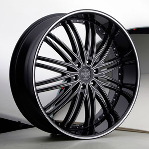 Versante 231 Black Machined Wheel Packages
