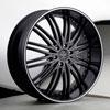 Versante 231 Black 20 X 8.5 Inch Wheel