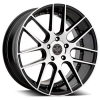 Versante 234 22X8 Black Machined